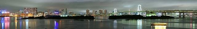 Panorama from Odaiba