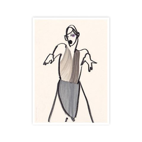 Dancer 03 print print