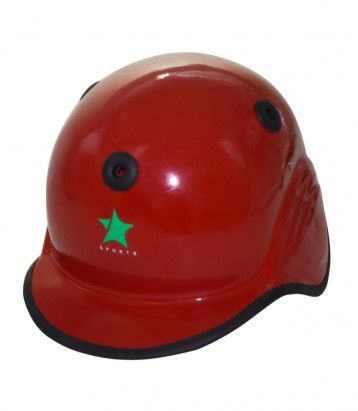 Baseball Helmet Fiber Glass Color Availability :Red Size : Standard  Type :Fiber Glass Pro