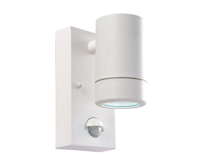 Endon 61006 Icarus 2.5W LED IP44 PIR Wall Light www.thebulbco.com Was £39.99 Now £29.99