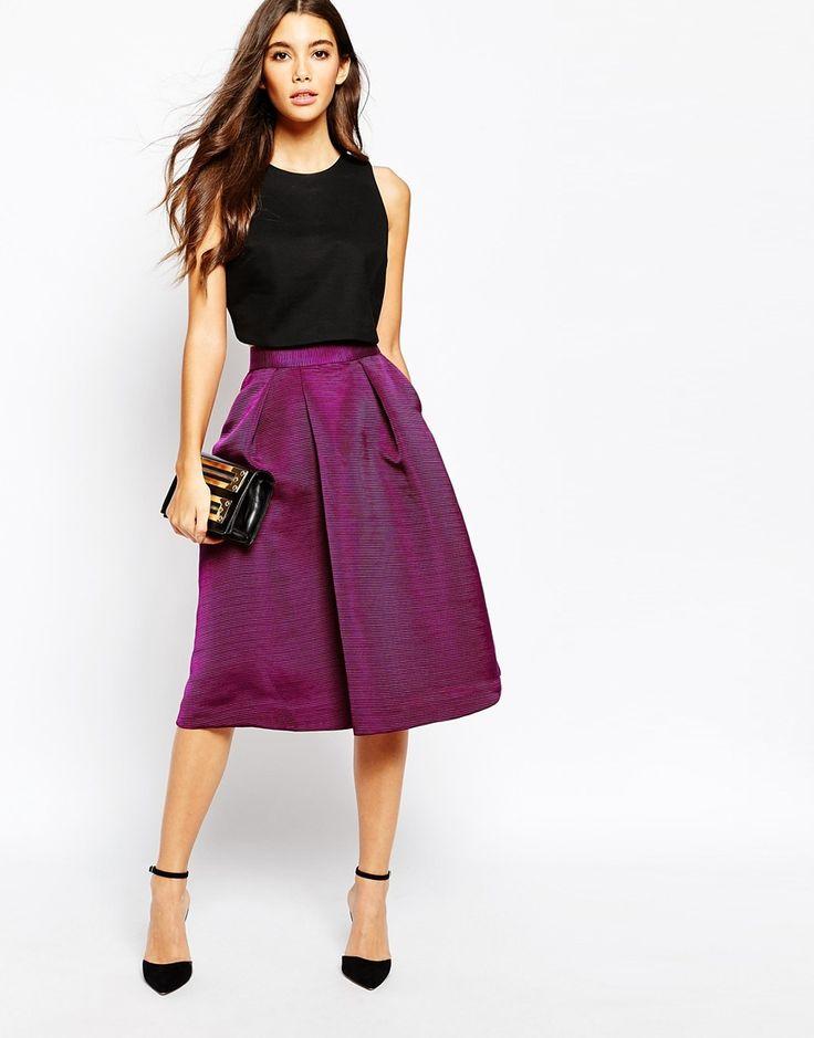 57 mejores imágenes de faldas en Pinterest | Moda femenina, Falda ...