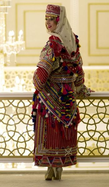 Anatolian traditional women's clothes....modern clothing design...Ankara Olgunlaşma Enstitüsü