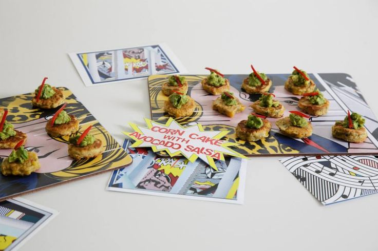 Delicious canapes - Summer Party at Café Modern One, Scottish National Gallery of Modern Art One