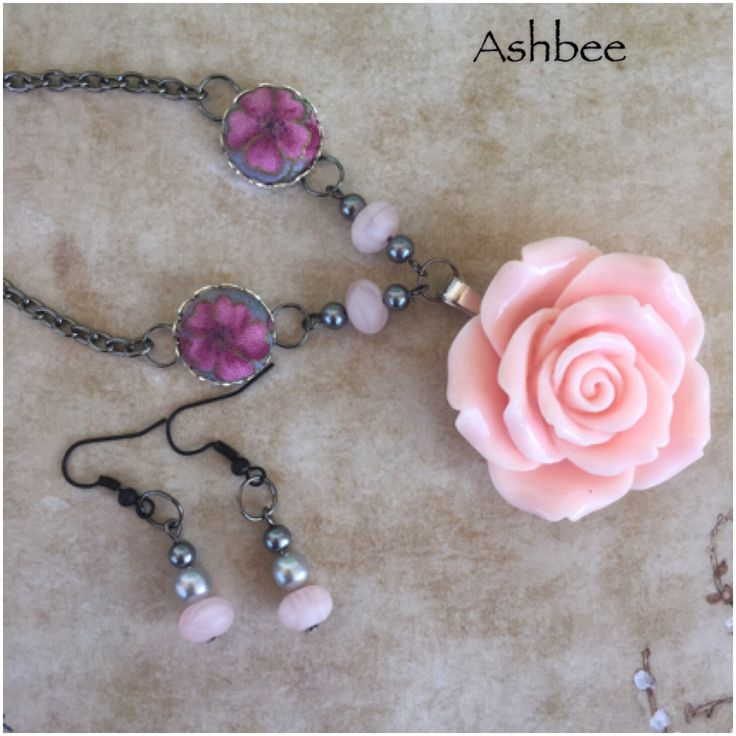 A personal favorite from my Etsy shop https://www.etsy.com/ca/listing/457780486/smokey-rose-large-resin-rose-in-pinkpink