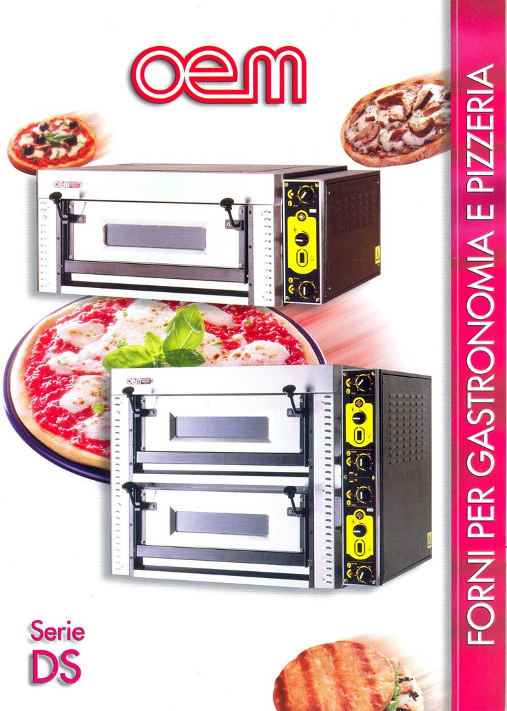OEM - Electric Ovens 4-8 DS