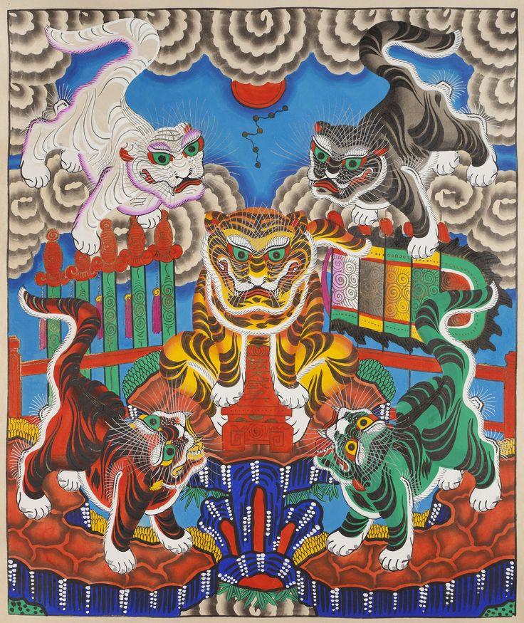 Vietnamský tygr / Orientální umění