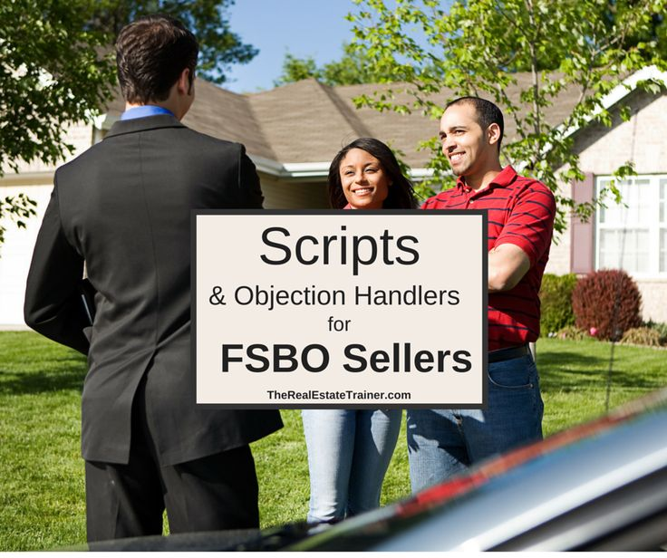 FSBO Prospecting Scripts - Learn these FSBO prospecting scripts & objection handlers to convey the value of an agent and list more For Sale By Owner homes.