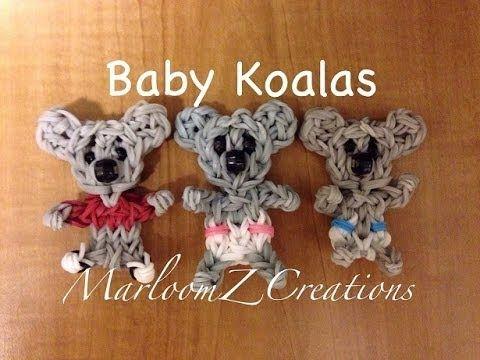 Rainbow Loom Koala Bear - How To