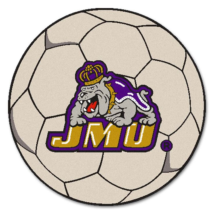 27 Round James Madison Dukes Soccer Mat: For all those James Madison Dukes Fans out there:… #sports #sportsshopping #sportswear