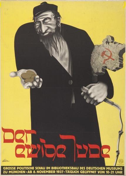 Plakat der ewige Jude, 1937 - Art of the Third Reich - Wikipedia