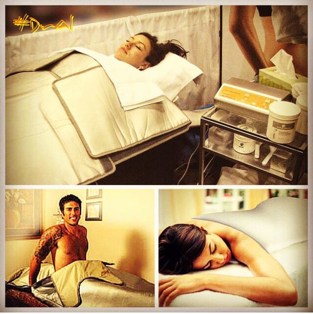What is the Sudatonic Wrap? It's a system that works with FIR infrared technology to make the body burn fat by forming a resistance of sweating and then making the body try to sweat. Find out more on our Facebook page @relaxmedspa #DrAl #relaxspa #miamiacupuncture #wellness #infrared #cellulite #weightloss #detox