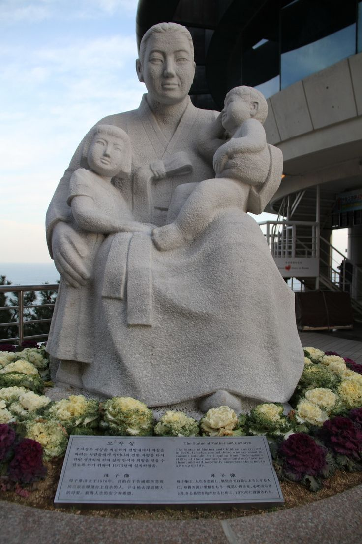 The Statue of Woman and Children, Busan