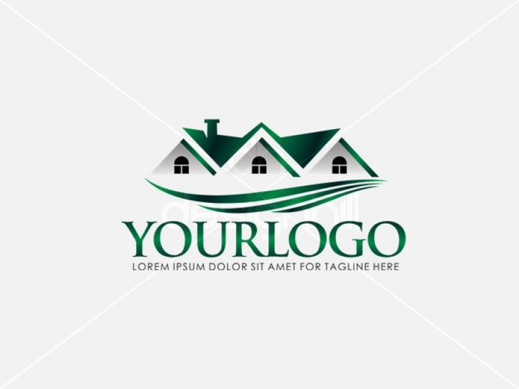 Three Custom Home Logo Design By Frank Einstein