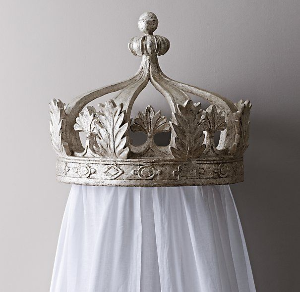 Princess Bed Canopy Girl Crown Pelmet Upholstered Awning: 17 Best Ideas About Bed Crown On Pinterest