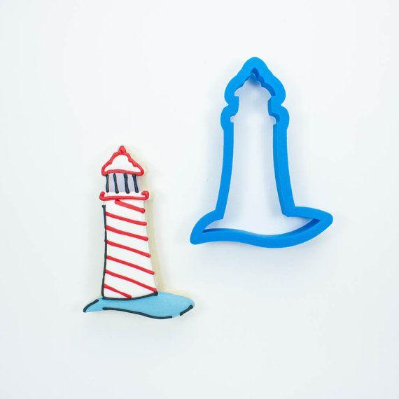 Modern Lighthouse Cookie Cutter