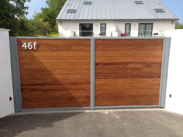 driveway wall and gates - Google Search