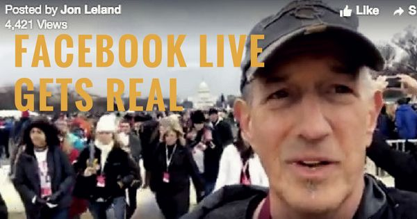 Facebook Live Social Video: I Gave It a Try. Here's What Happened.