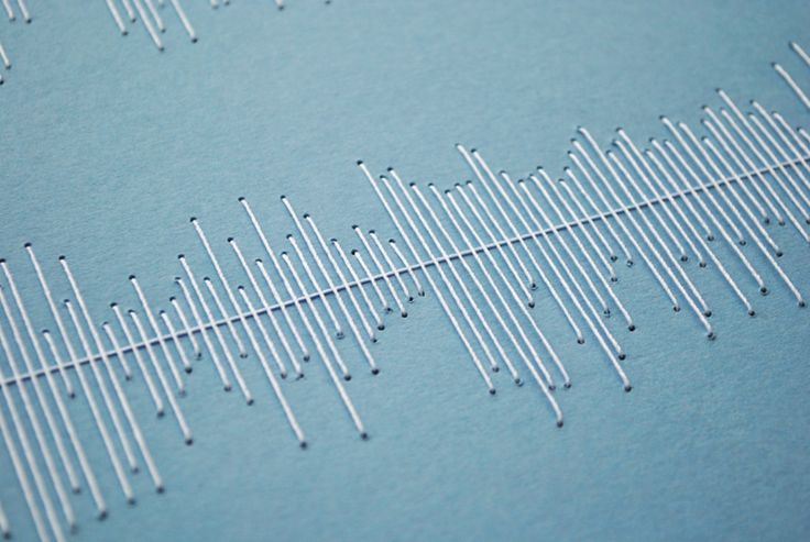 Stitched Visualisation of music