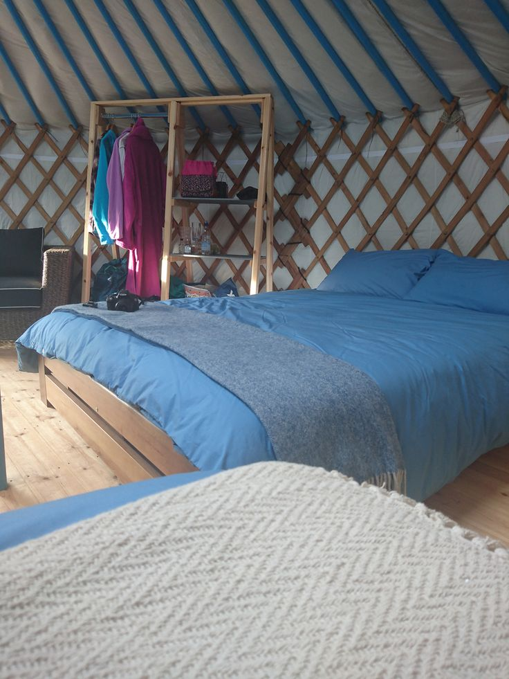 Unforgettable Luxury Glamping Holidays at Fir Hill Yurts, Near Nequay in Cornwall. Family glamping in stunning yurt accommodation.