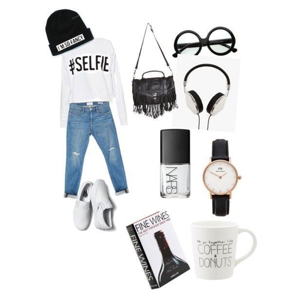 Casual black & white