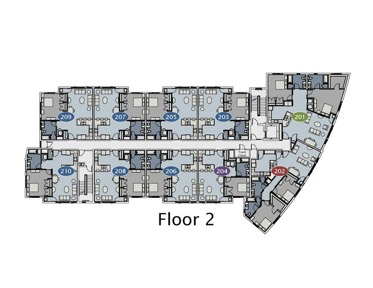 Home Plans Design Apartment Complex Floor