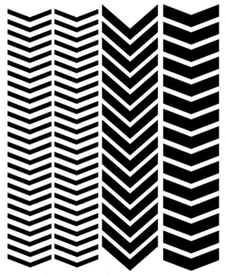 vinyl nail stencils single chevron variety 80 cricut pinterest nail stencils and. Black Bedroom Furniture Sets. Home Design Ideas
