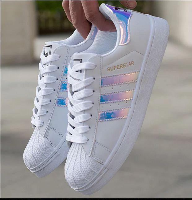 HEISS 🔥 Adidas Superstar Holographic Design
