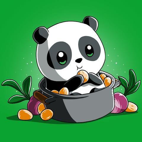 Baby Po T-Shirt | Official Kung Fu Panda Tee | TeeTurtle