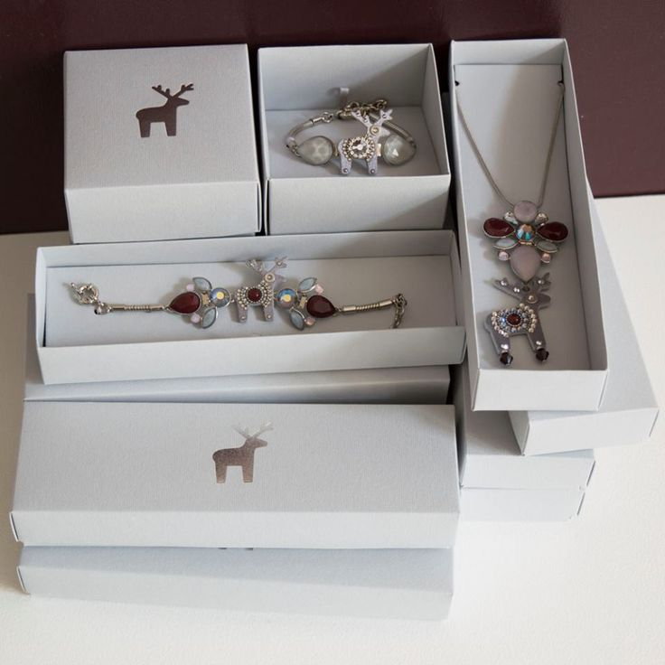 Exkluzivní šperky z ŠEDÓ kolekce si zaslouží luxusní balení.