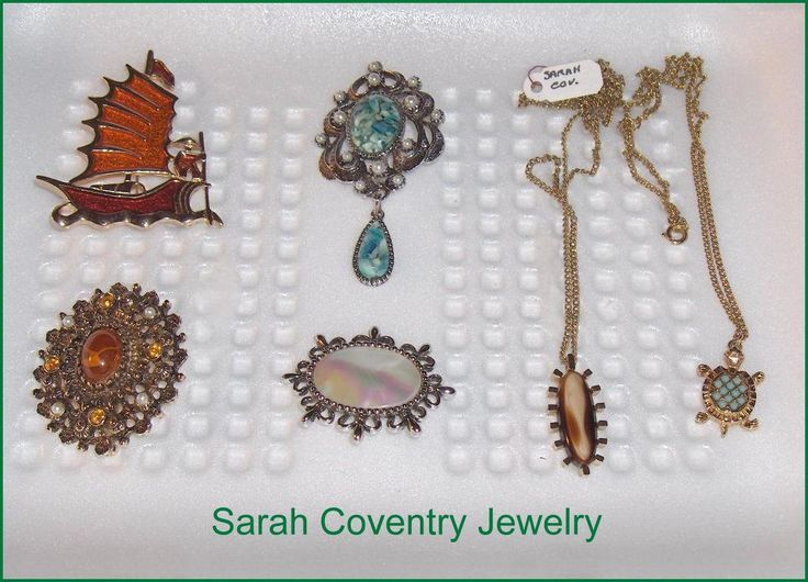 Sarah Coventry Vintage Jewelry Lot of 6  Items by EttasEmporium on Etsy