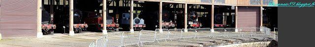 Nos promenades en Cagouille: Musée vivant du chemin de fer (A.J.E.C.T.A)