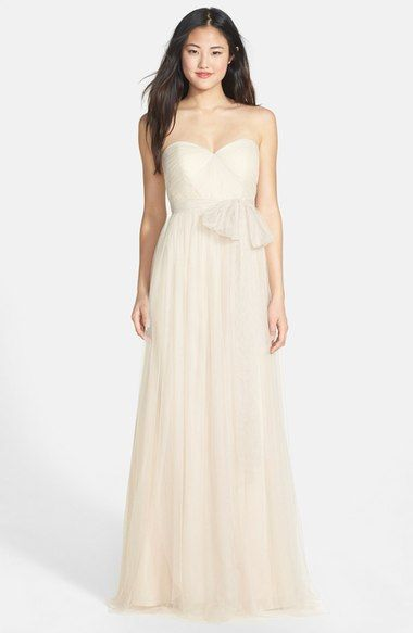Jenny Yoo - 'Annabelle' Convertible Tulle Column Dress. Gorgeous dress, comes in several colors and can be worn multiple ways.