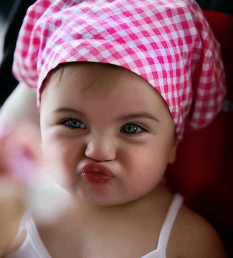 so cute :): Puckerup, Baby Lips, Little Girls, Poke Bonnets, Girls Generation, Pucker Up, Funny Faces, Baby Girls, Sweet Girls