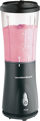 Hamilton Beach - Single-Serve Blender - Black, 51101B