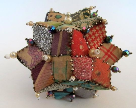 Vintage Patchwork Pincushion | eBay