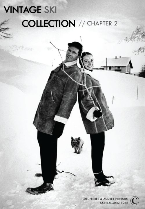 "By the end of the fifties, Audrey Hepburn and her husband Mel Ferrer found a place to retreat from Hollywood : the nine-bedroom villa in tiny Tolochenaz, some 30 miles northeast from Geneva, Switzerland. The actress loved Switzerland, because ""It is a place where there would never be a war"", she said. Switzerland was her adopted homeland, and she loved to enjoy mountains and winter sports in Saint Moritz, surrounded by her family, not forgetting her dog Mr. Famous."