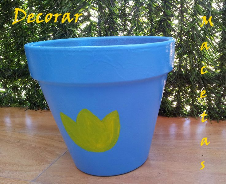 Decorar macetas de barro #maceta #decorar #diy #hazlotúmisma #laboresenlaluna #macetas