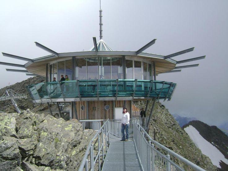 Top Mountain Star (cafe/bar at the top of a mountain) - Hochgurgl, Austria