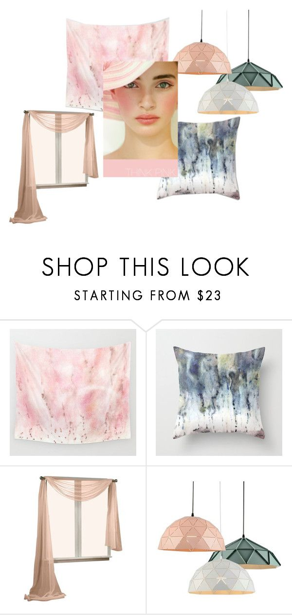 Raining On The Dollhouse by rhymingscapes on Polyvore featuring interior, interiors, interior design, home, home decor and interior decorating