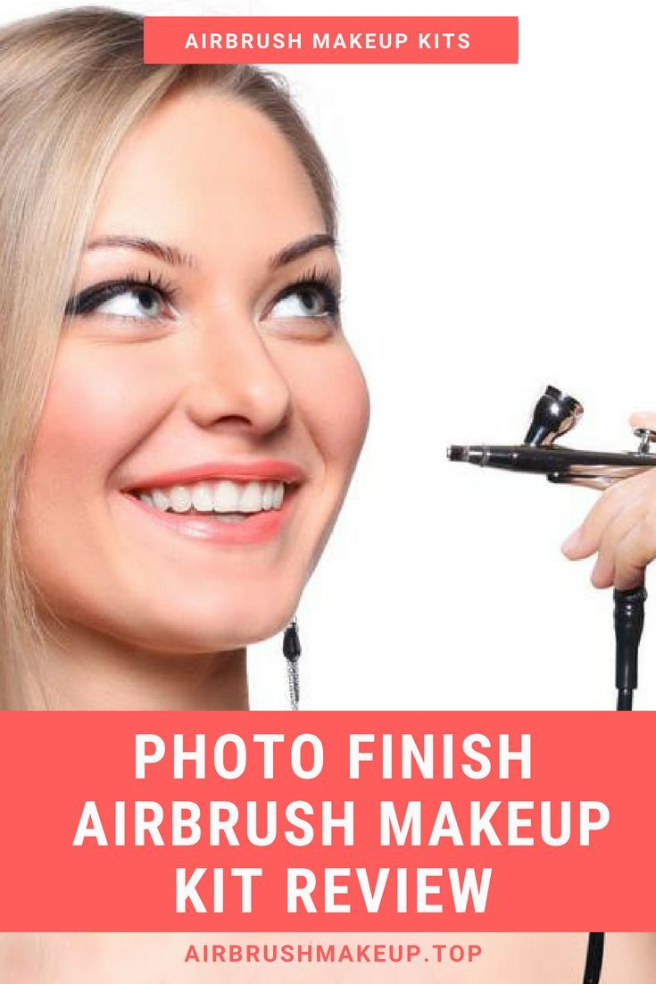 The Photo Finish airbrush makeup kit was designed for professional stylists, but with features that are easy enough to be used by home users.