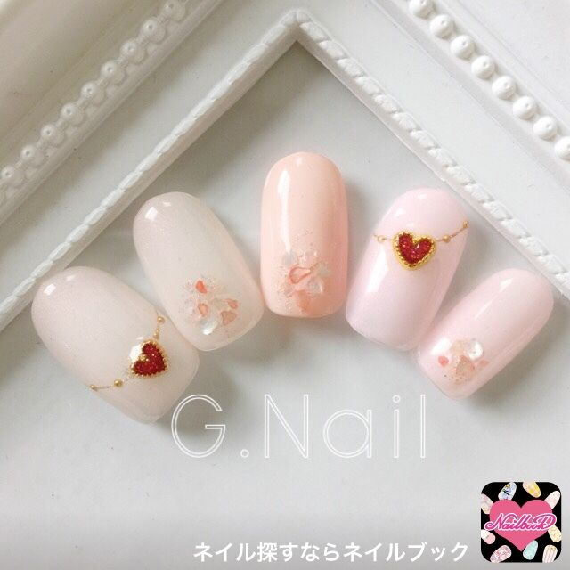 Pastel pink, heart