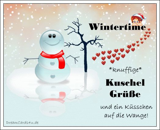 Knuffige Winter-Grüße