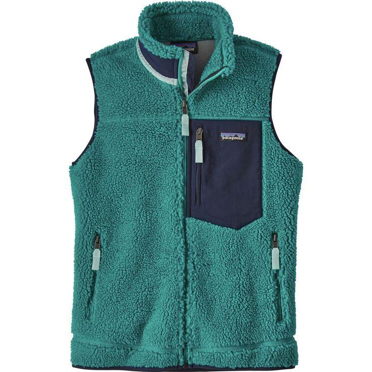 Patagonia - Classic Retro-X Fleece Vest - Women's - Elwha Blue