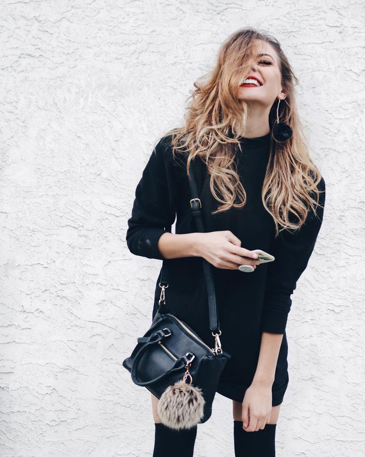• all black outfit •  #style #fashion #inspo #womensfashion #instagram #allblack
