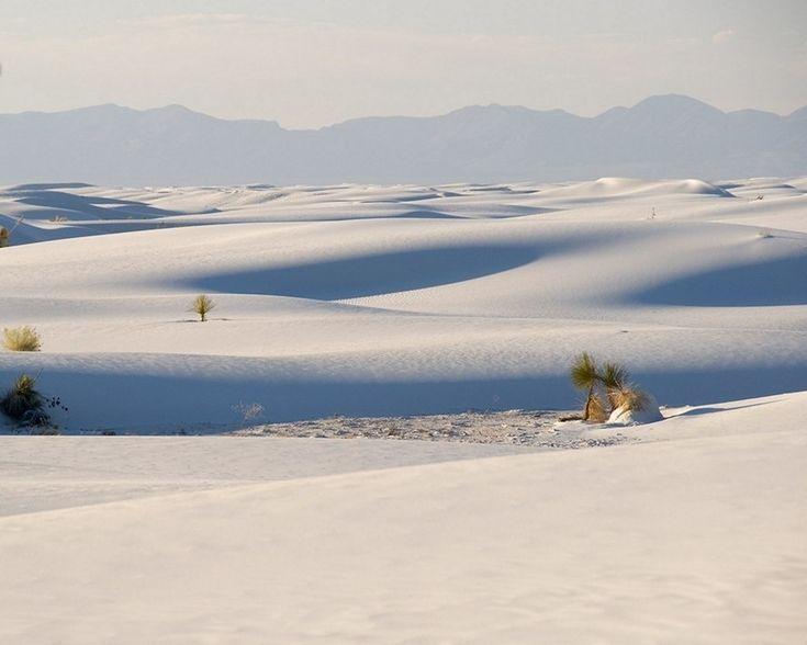 Ослепительно-белый песок в Нью-Мексико - Путешествуем вместе