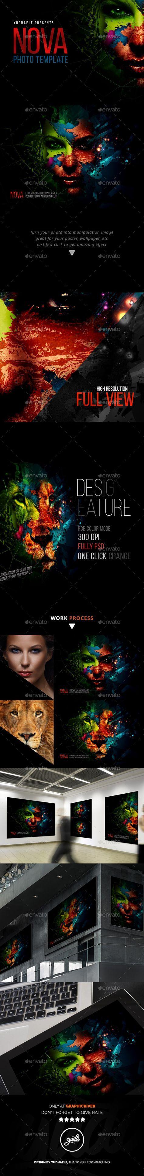 Nova - Artistic Photo Template #photography #psd Download: http://graphicriver.net/item/nova-artistic-photo-template-/12022529?ref=ksioks