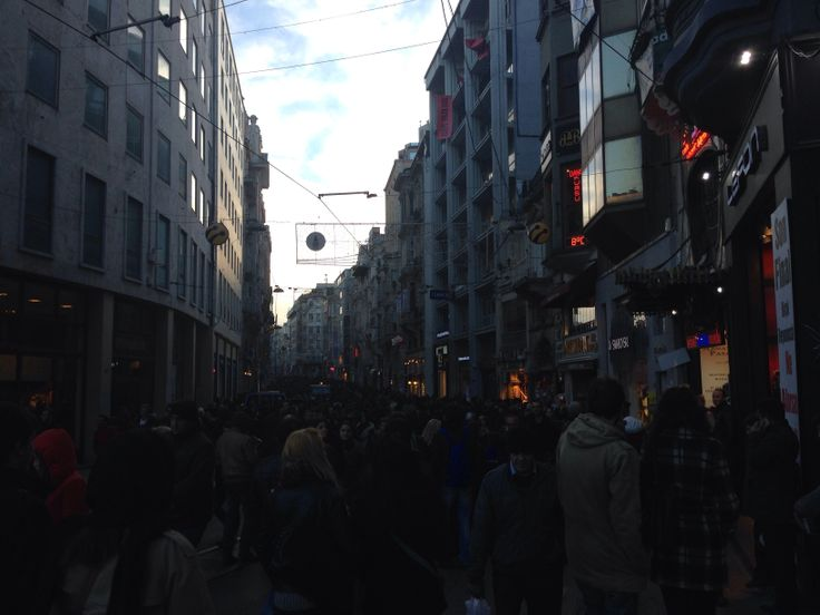 The busiest street in Istanbul