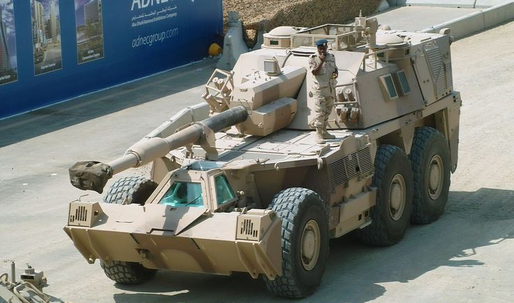South African G6 Rhino (155-mm Self-propelled Howitzer)