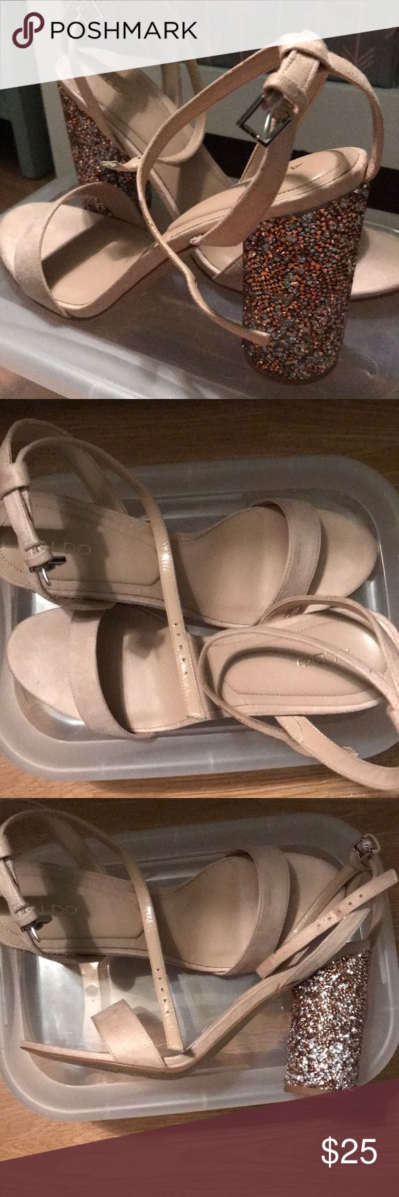 Aldo size 11 shoes So cute perfect for a party or night out also size 11 shoes. Worn once Aldo Shoes Heels