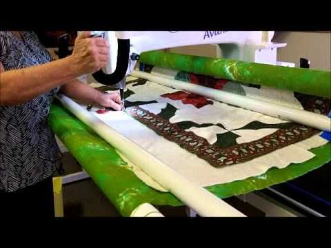 85 best Loading a Longarm images on Pinterest | Longarm quilting ... : long arm quilting videos - Adamdwight.com